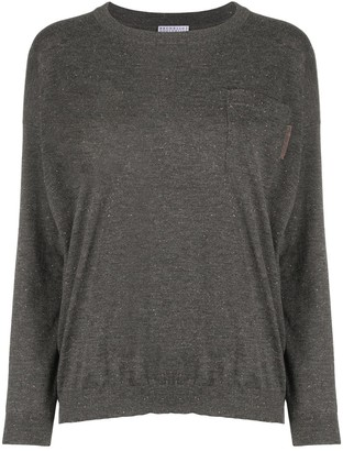 Brunello Cucinelli Classic Knitted Jumper