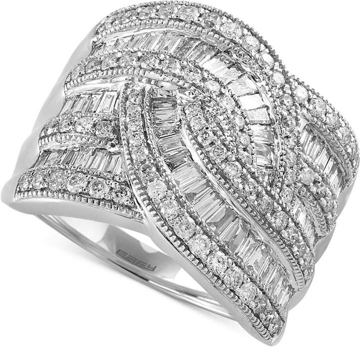 Effy Classique by Diamond Wide-Style Ring (1-1/2 ct. t.w.) in 14k Gold or White Gold