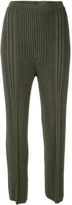 Dion Lee Pinnacle Pleat Cropped Trousers