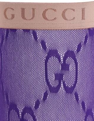Gucci Long Gg Jacquard Socks