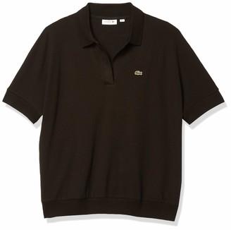 Lacoste Women's Short Sleeve Buttonless Pique Polo Shirt