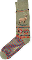 Ralph Lauren Reindeer Trouser Socks