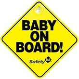 "Safety 1st Baby On Board"" Sign, 2-Pack"
