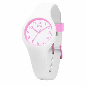 Ice Watch Ice-Watch - ICE ola kids Candy white - Girl's wristwatch with silicon strap - 015349 (Extra small)