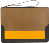 Marni Trunk clutch bag - women - Leather - One Size