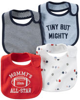 Carter's 4-Pack Teething Bibs