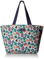 Vera Bradley Lighten up Drawstring Family Tote, Microfiber