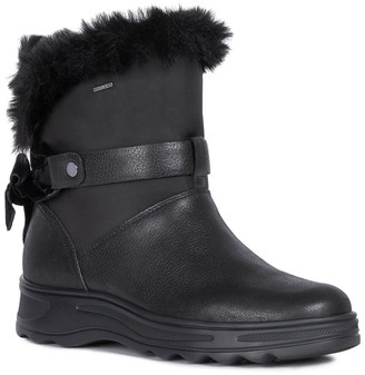 Geox Hosmos Leather Ankle Boot