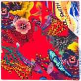 Paul Smith Ocean print scarf