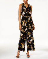 Thalia Sodi Printed Chain-Belt Jumpsuit, Only at Macy's