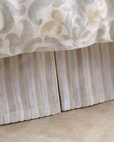 Jane Wilner Designs Le Monte Stripe King Dust Skirt