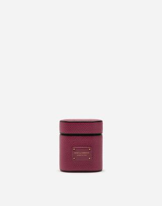 Dolce & Gabbana Dauphine Calfskin Airpods Case