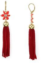 Kate Spade Lovely Lillies Tassel Earrings