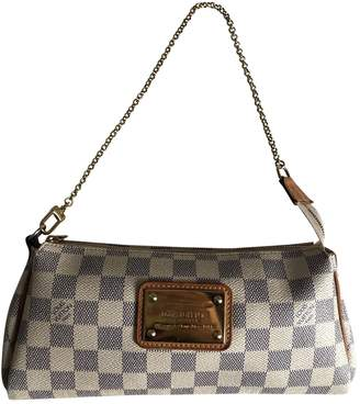 Louis Vuitton Eva Beige Cloth Clutch bags