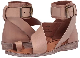 Free People Vale Boot Sandal (Taupe) Women's Shoes