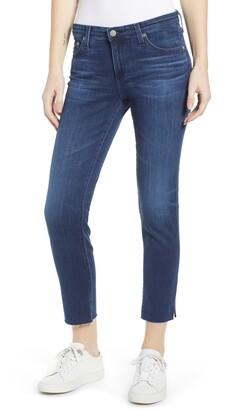 AG Jeans The Prima Raw Hem Crop Jeans