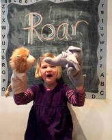 Oskar & Catie Animal Glove Puppets