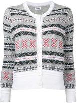Coohem Fair Isle cardigan - women - Cotton/Acrylic/Nylon/Wool - 36