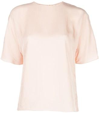 Vince drape twill T-shirt