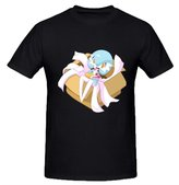 Freddy Printing Short Sleeve Gardevoir legendary pokemon Organic Cotton Guys T shirts