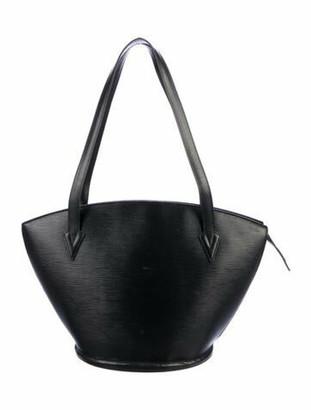 Louis Vuitton Vintage Epi St. Jacques Shopping GM Black