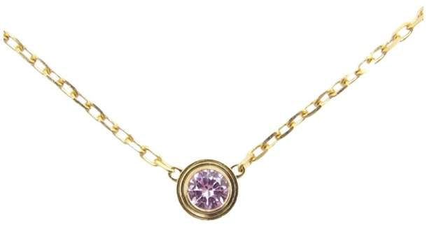 Cartier 18K Pink Gold and Pink Sapphire Necklace
