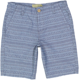 Lucky Brand Classic Blue Stripe Big Permanent Shorts - Boys