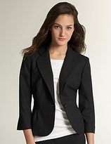 City Suiting Waistband Inset Jacket