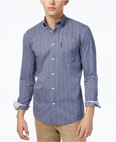 Ben Sherman Men's Slim-Fit Dot-Print Shirt
