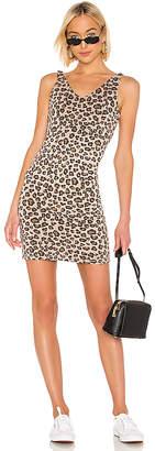 Monrow Leopard V Dress