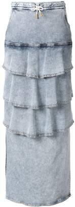 Manning Cartell long denim skirt