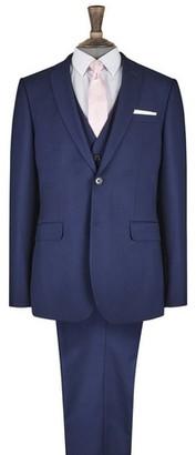 Dorothy Perkins Womens **Burton Midnight Blue Skinny Fit Stretch Suit Jacket, Blue