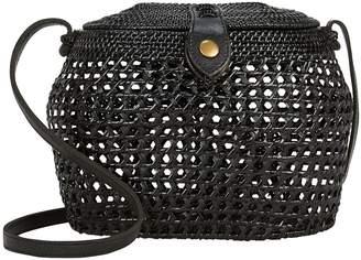 Faithfull The Brand Paloma Crossbody Basket Bag