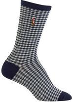 Ralph Lauren Gingham-Check Socks