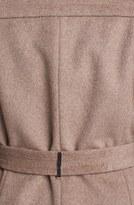 Calvin Klein Notch Collar Wrap Coat