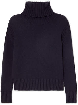 &Daughter Roshin Wool Turtleneck Sweater - Navy