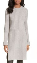 Joseph Women's Side Slit Ribbed Wool Blend Tunic