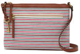 Fossil Fiona Small Striped Crossbody Bag