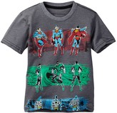 Dx-Xtreme Justice League Vintage Together Short Sleeve Tee (Little Boys)