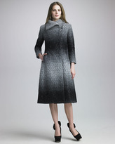 Alice + Olivia Mary Shimmery Coat