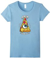 Ripple Junction Women's In God We Crust T-Shirt Large