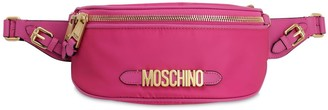 Moschino Logo Nylon Belt Bag
