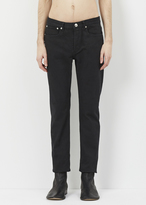 A.P.C. Noir Petit Standard Washed Stretch Jean
