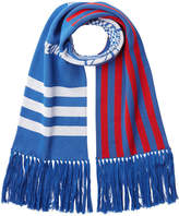Kenzo Cotton Scarf with Fringe