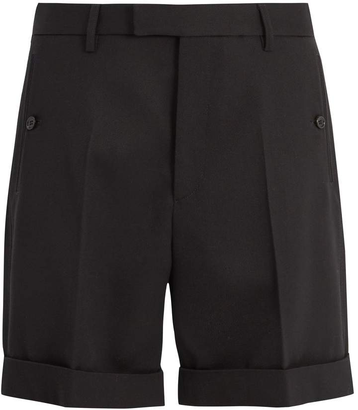 Gucci Tailored cotton-twill shorts