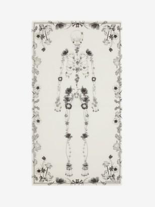 Alexander McQueen Night Flower Skeleton Shawl