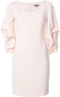 Alberto Makali gathered sleeve mini dress