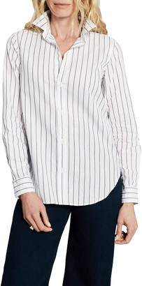 Frank And Eileen Frank Striped Long Sleeve Button Down Shirt