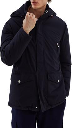 Brunello Cucinelli Men's Hooded Nylon Microfiber Rain Parka