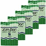Indigo Wild Zum Bar Goat's Milk Soap Mint 3oz (5 pack)